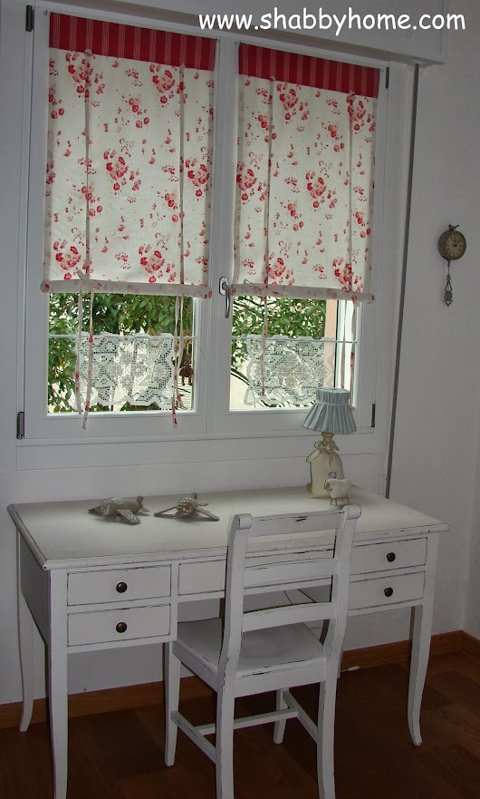 Tutorial come realizzare delle tende Shabby Chic - Tutorial how to sew a Shabby Chic awning