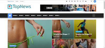 News Blogger Templates Free Download