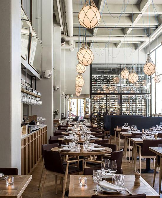 interior restoran minimalis