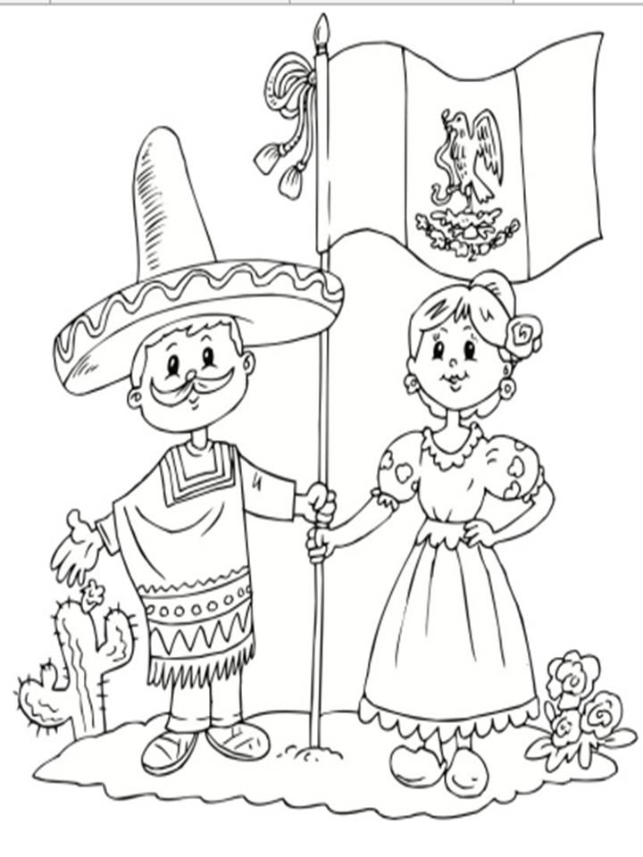 mexico and coloring pages - photo#28