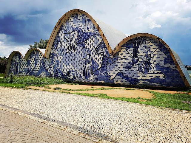 Capela Curial de São Francisco de Assis, na Lagoa da Pampulha - Belo Horizonte - Minas Gerais - Roteiro de 2 dias