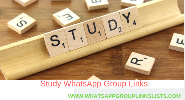 Join Study WhatsApp Group Links List
