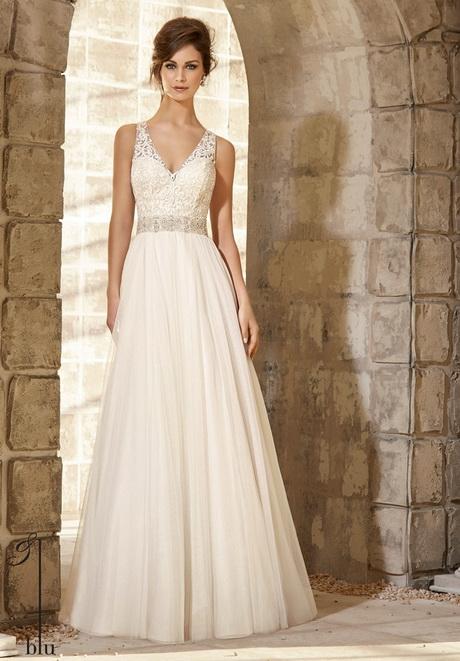 Modelos de vestidos de novia sencillos