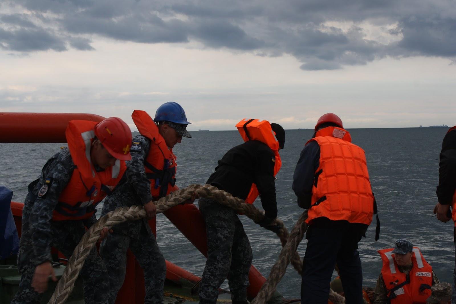 Олександр Охрименко забезпечував стрільби ПКР Нептун
