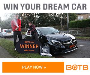 احصل على فرصه لربح سيارة الاحلام الفاخره 2018 مع BOTB