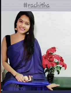 Rachitha latest hot saree photos Navel Queens