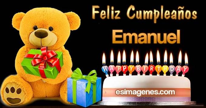 Feliz cumpleaños Emanuel