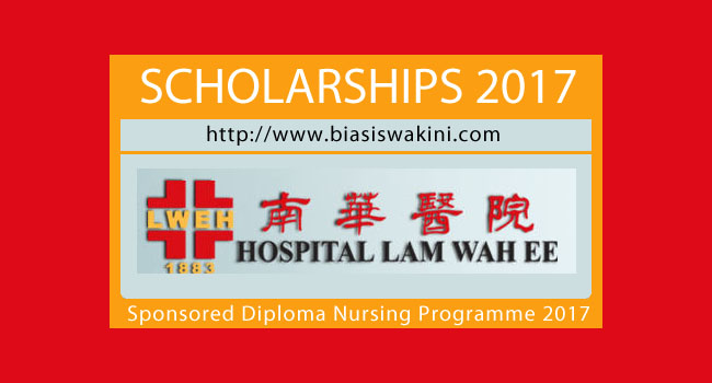 Hospital Lam Wah EE 2017- Sponsored Diploma Nursing Programme