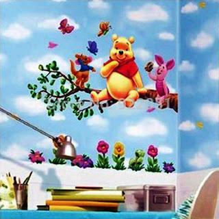 Gambar Wallpaper Dinding Winnie the Pooh Terbaru dan Lucu 200168