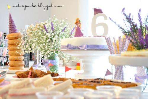 Festa infantil - Rapunzel
