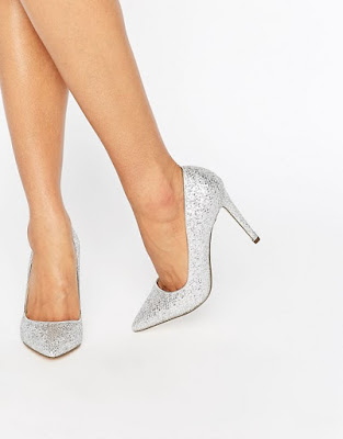 ideas de Zapatos de Fiesta Plateados