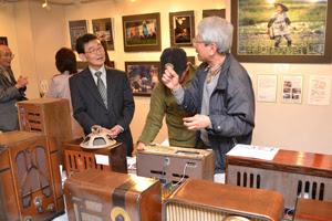 貞包勝 日本の心 写真と昭和の真空管ラヂオ