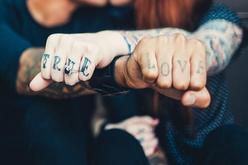 Odio Los Tatuajes Para Parejas Son Una Mierda Y Te Lo Demuestro