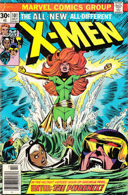 X-Men #101, the Phoenix makes her debut