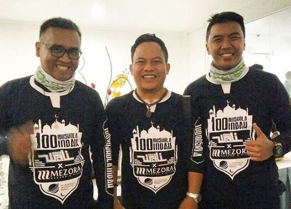Bangun 100 Musala, Wali Band Konvoi Keliling Bandung