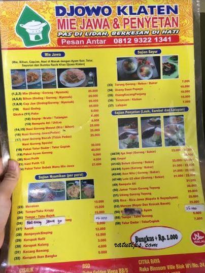Review Nasi Goreng Mawut dan Iga Bakar di RM Djowo Klaten, Rasanya Enak Banget!