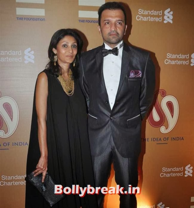 Vandana and Atul Kasbekar, The Idea of India Auction Pics