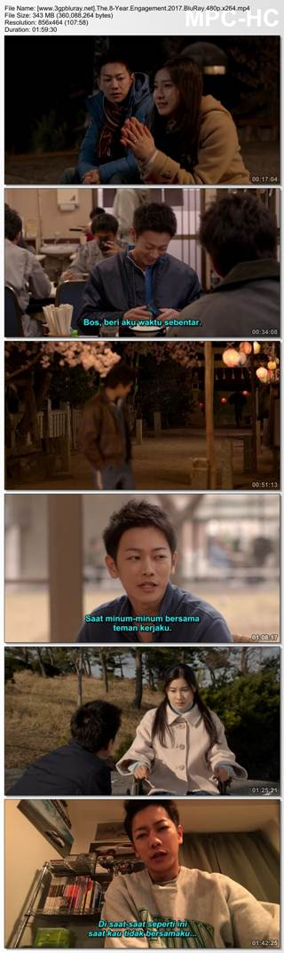 Screenshots Download The 8-Year Engagement (2017) BluRay 480p & 3GP Subtitle Indonesia