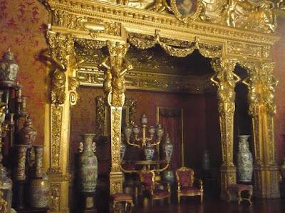 Palazzo Reale di torino sala dell'alcova