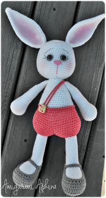 Amigurumi Tavşan Pamuk-Amigurumi Rabbit