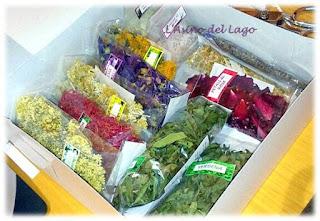 kit degustazione fiori commestibili