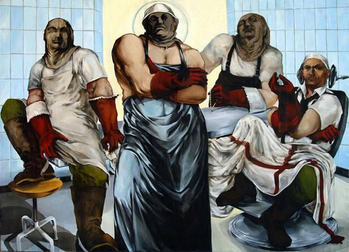 Реалистичные картины. Biljana Djurdjevic