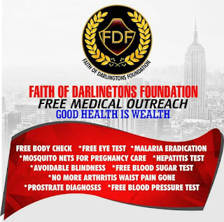 Chief Darlington Chimezie In Conjunction With Faith Of Darlington Foundation, Kicks Off Free Medical Outreach 1