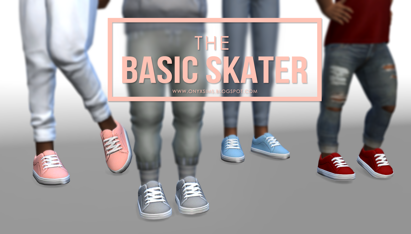 Sims  Cc Shoes Skate