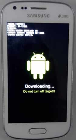 Downloading Do Not Turn Off Target Samsung | Greatopedia