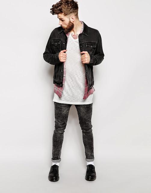 LongLine T-Shirt e Oversized Tee, como usar jaqueta