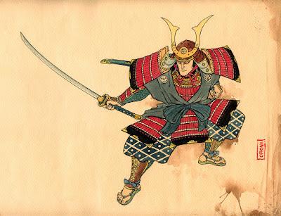 Imagem Samurai Espadas Muramasa demoniacas