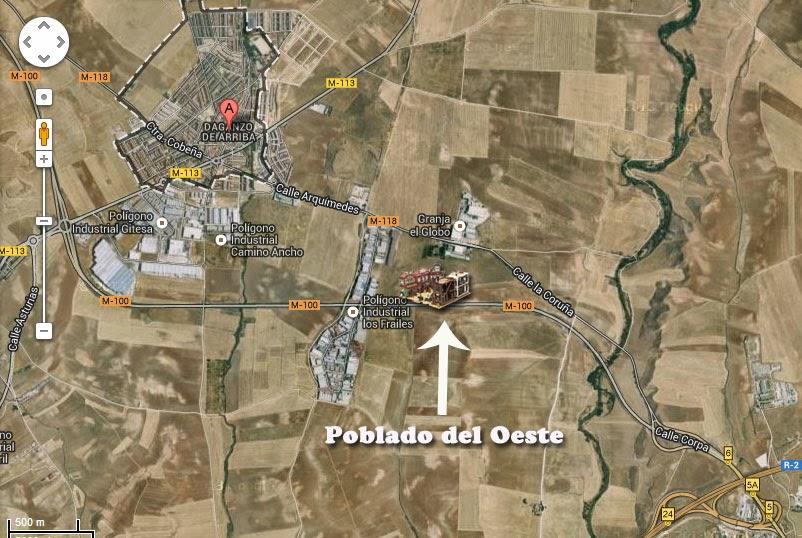 Por un pu ado de localizaciones poblado del oeste de daganzo - Daganzo de arriba ...
