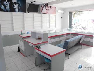 Kontraktor Interior - Interior Untuk Toko Optik Kacamata
