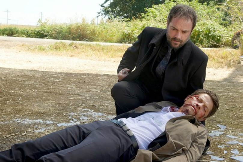 Supernatural. S10E04. Crowley ayuda a Castiel