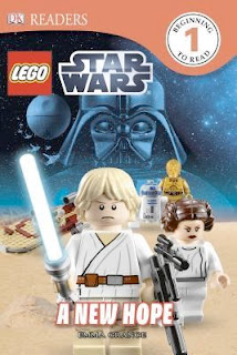 bookcover of Lego Star Wars -- A NEW HOPE  by Emma Grange