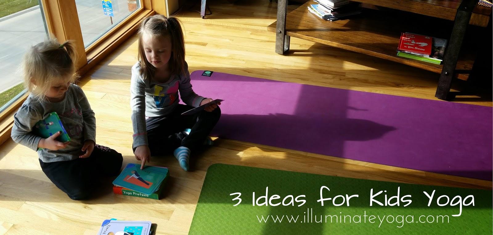 Letu0027s Play Yoga: 3 Ideas For Kids Yoga