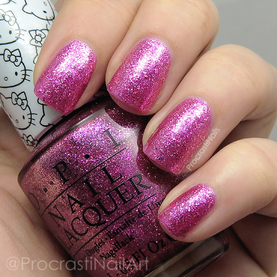 Swatch of OPI Starry-Eyed for Dear Daniel