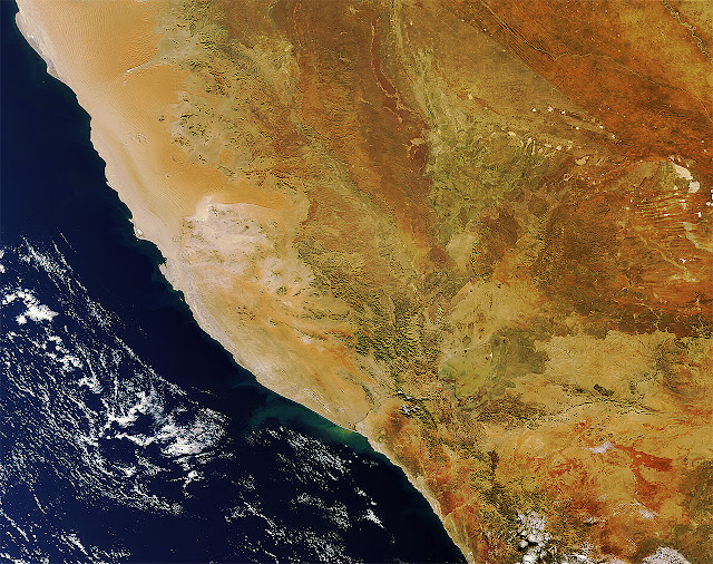 Namibia: African gem from space | Намибия из Космоса