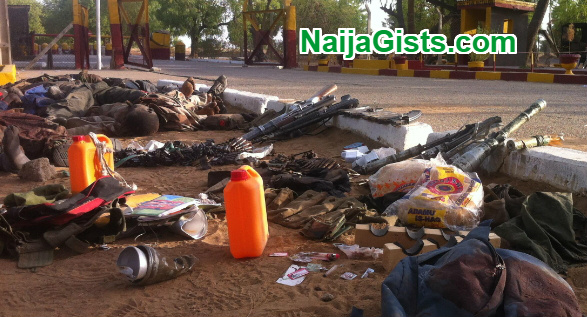 22 boko haram fighters killed borno state