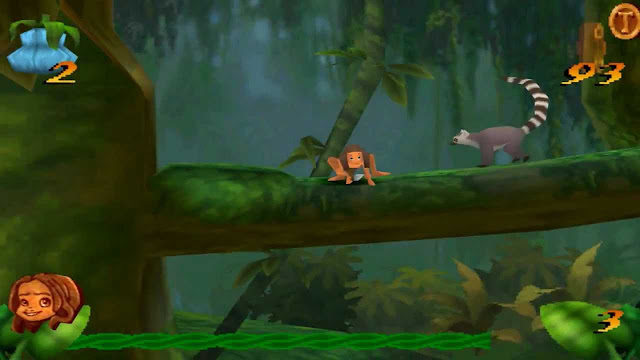 Disney's Tarzan PS1 ISO Petualangan