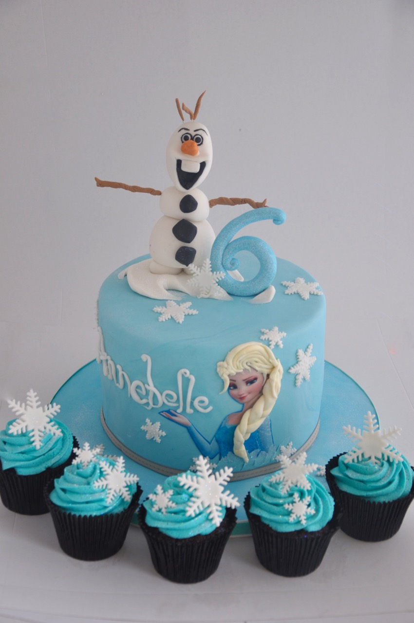 rozanne s cakes frozen cake with frozen cupcakes on birthday cakes durbanville cape town