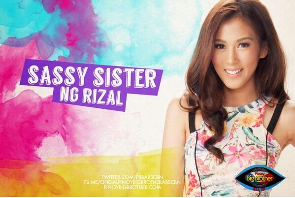 "Pinoy Big Brother All In Housemates photos - Alex Gonzaga ""Sassy Sister"""