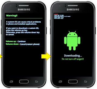 Root Samsung Galaxy J1