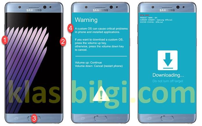 Samsung Telefonlara Odin ile Stock Rom Yazılım Yükleme Rehberi