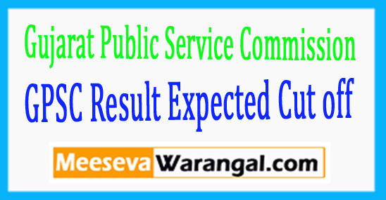 GPSC Gujarat Public Service Commission Principal Gujarat Education Service Result 2017
