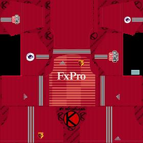 Watford FC 2018/19 Kit - Dream League Soccer Kits