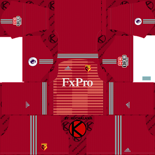 Watford FC 2018/19 Kit - Dream League Soccer Kits