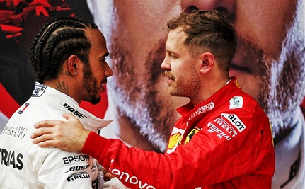 Lewis Hamilton wins over Bottas as sixth in 1000th F1 Chinese Grand Prix, Full Race Results.