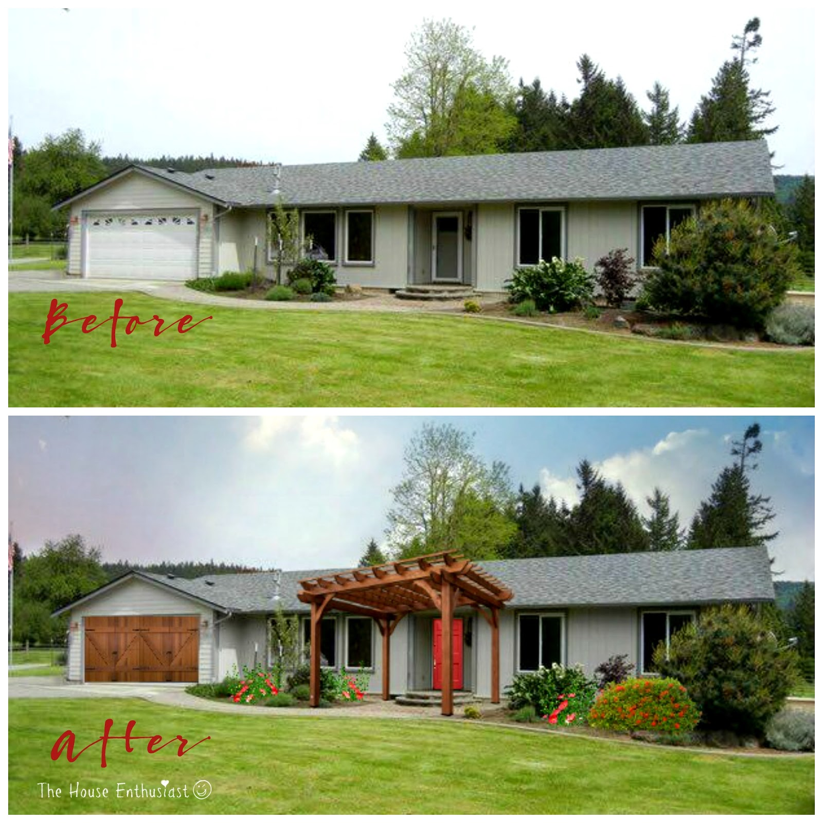 Before And After Home Makeovers: The House Enthusiast: Before And After