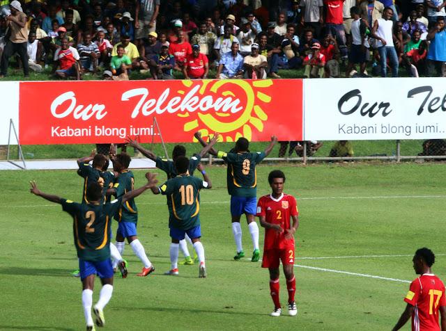 Islas Salomón 3-2 Papúa Nueva Guinea Eliminatorias Oceanía Rusia 2018